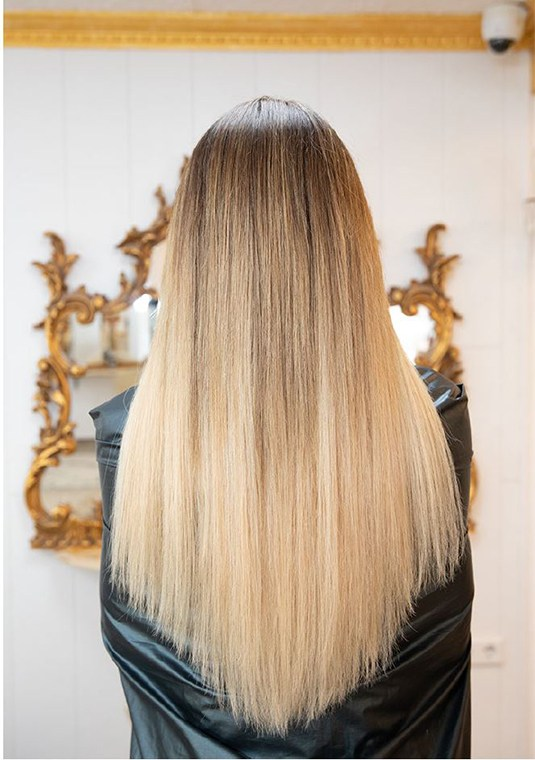 hairstyling vorher